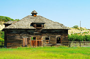 Old Barns Photo Prints - An Old Barn In Near Zillah  Print by Jeff  Swan