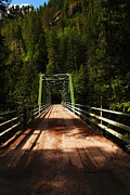 Man-made Photos - An Old Bridge Crossing The Seleway River  by Jeff  Swan