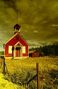 Jeff  Swan - An Old Church Outside...