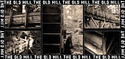 Grist Mill Art - An old mill by Tommy Hammarsten