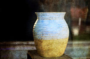 Medieval Originals - An old pot in vintage background by Tommy Hammarsten