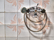 An Old Shower Print by Sinisa Botas