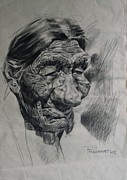 Prashant Srivastava - An old woman