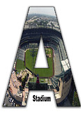 Base Ball Prints - Anaheim Stadium Print by Roberto Cortes