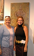 Guild Art - Anahi Decanio At Boca Raton Artists Guild by Anahi Decanio