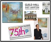 Hall Mixed Media Framed Prints - Anahi DeCanio at Guild Hall East Hampton Framed Print by Anahi DeCanio