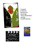 Atlanta Gift Mart Licensing Art - Anahi DeCanio in film Were the Millers by Anahi DeCanio