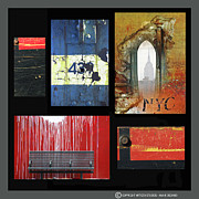 Industrial Mixed Media Prints - Anahi Decanio Photography Licensing Samples - Urban Print by Anahi DeCanio
