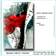 Commercial Mixed Media Posters - Anahi DeCanio Solo Exhibit in Syosset Poster by Anahi DeCanio