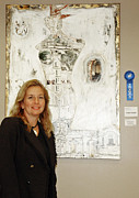 Textile Mixed Media - Anahi DeCanio wins First Place for Rubble Riser - Boca Raton by Anahi DeCanio