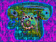 Antique Collectables Posters - Analog A-Phone - 2013-0121 - v3 Poster by Wingsdomain Art and Photography
