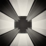 Analog Posters - Analog Photography - Berlin Abstract Architecture Poster by Alexander Voss