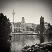 Analog Framed Prints - Analog Photography - Berlin Fischerinsel Framed Print by Alexander Voss