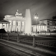 Analog Framed Prints - Analog Photography - Berlin Pariser Platz Framed Print by Alexander Voss