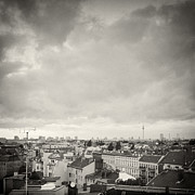 Analog Framed Prints - Analog Photography - Berlin Roofscape Framed Print by Alexander Voss