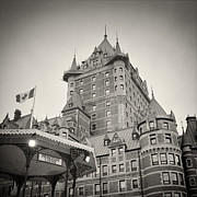 Analog Prints - Analog Photography - Chateau Frontenac Quebec Print by Alexander Voss