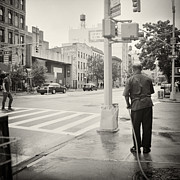East Village Photos - Analog Photography - New York East Village No.6 by Alexander Voss