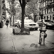 Analog Framed Prints - Analog Photography - New York East Village No.7 Framed Print by Alexander Voss
