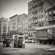 Bart Simpson Framed Prints - Analog Photography - New York East Village No.8 Framed Print by Alexander Voss