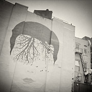 Analog Framed Prints - Analog Photography - New York East Village No.9 Framed Print by Alexander Voss