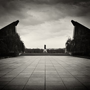 Analog Prints - Analog Photography - Berlin Soviet War Memorial Treptow Print by Alexander Voss