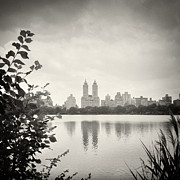 Analog Framed Prints - Analog Photography - New York Central Park Framed Print by Alexander Voss