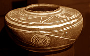 Fine American Art Framed Prints - Anasazi Bowl 1200 AD Framed Print by David Lee Thompson