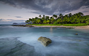 Top Seller Prints - Anchor of the sea at Koolina Print by Tin Lung Chao
