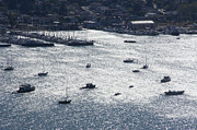 Sausalito Photos - Anchorage Off Of Sausalito by Scott Lenhart