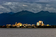 Anchorage Print by Rick Berk