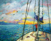 Peggy Johnson - Anchored at Sunset