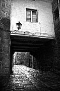 RicardMN Photography - Ancient alley In Tui BW