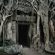 Ancient Angkor Print by Shaun Higson