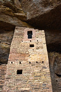 Native American Dwellings Prints - Ancient Architecture Print by Jill Battaglia
