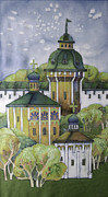 Orthodox Painting Framed Prints - Ancient City-1 Framed Print by Khromykh Natalia