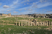 Of Antioch Posters - Ancient City of Jerash Poster by Ash Sharesomephotos