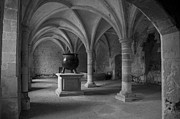 Bambers Prints - Ancient Cloisters. Print by Clare Bambers
