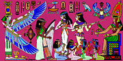 Horus Metal Prints - Ancient Egypt Splendor Metal Print by Hartmut Jager