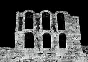 Greek School Of Art Framed Prints - Ancient Greek Ruins Framed Print by John Rizzuto