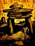 Ancient Grunge Print by John Malone