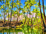 Honokaa Pond Prints - Ancient Hawaiian Fish Pond Print by Dominic Piperata