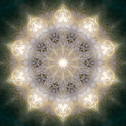 Mandala Photos - Ancient Light X by Lisa Lipsett