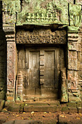 Khmer Framed Prints - Ancient Portal Framed Print by Artur Bogacki