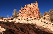 Ancient Ruins Prints - Ancient Pueblo Print by Adam Jewell