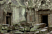 Cambodia Photos - Ancient Ruins Cambodia by Bob Christopher