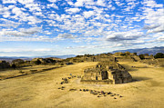 Ancient Ruins Of A Zapotec Temple Print by Mark E Tisdale
