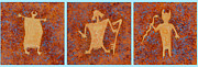 Pictograph Posters - Ancient Spirits Poster by Jerry McElroy