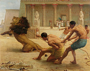 Hieroglyphics Paintings - Ancient Sport by George Goodwin Kilburne