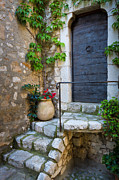Saint Paul De Vence Framed Prints - Ancient Stairs Framed Print by Inge Johnsson