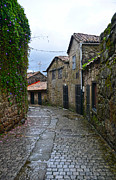 Galicia Framed Prints - Ancient street in Tui Framed Print by RicardMN Photography